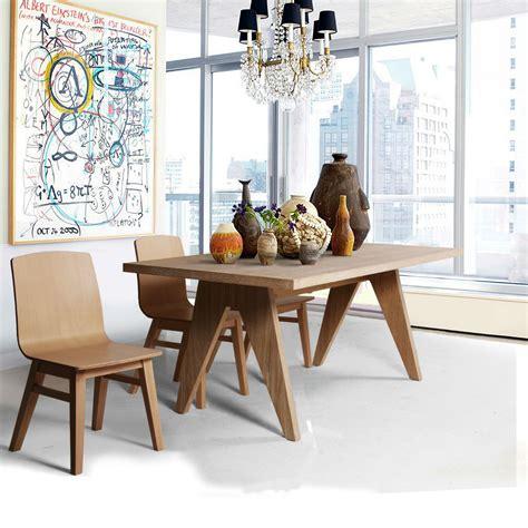 table de salle 224 manger rectangulaire en bois brin d ouest
