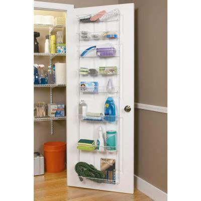 Closetmaid Door Rack - closetmaid 72 in x 18 in 8 tier ventilated storage rack