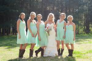 bridesmaid dresses with boots bridesmaid dresses with cowboy boots winter wedding ideas weddceremony