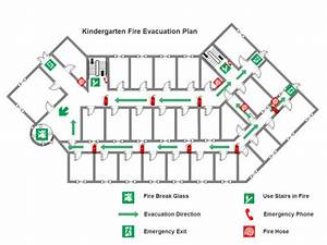 Kindergarten Fire Evacuation Plan
