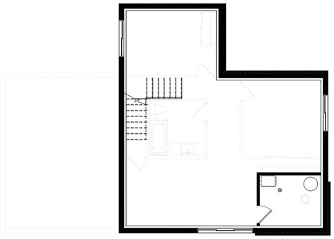 House Plan 76547 Modern Style with 1188 Sq Ft 2 Bed 2