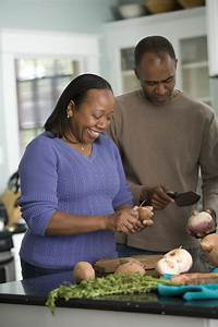 Number Designs Cooking Free Stock Photo An African American Couple