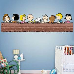 Wall decal cutest peanut wall decals charlie brown wall for Cutest peanut wall decals