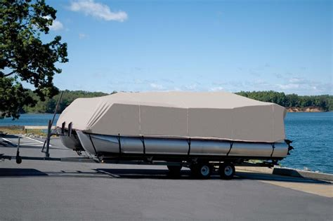 Pontoon Boat Top Covers pontoon boat covers and bimini tops coverquest