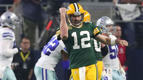 week  nfl picks  spread packers nip cowboys
