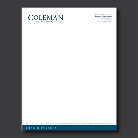business letterhead  printable letterhead