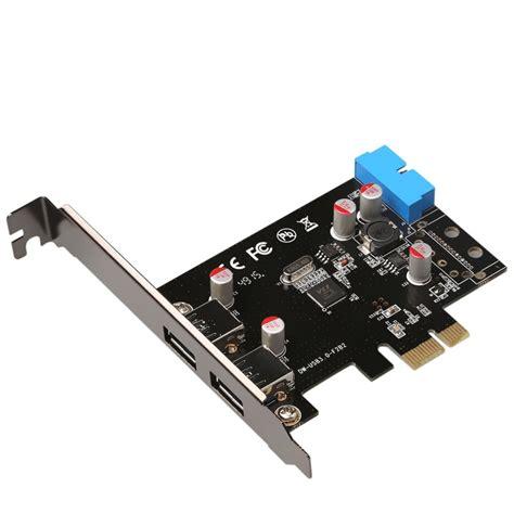 Pcie 2 port usb 3.0 kart usb pci express usb 3.0 hızlı. SuperSpeed 2 Port USB 3.0 19 pin USB3.0 PCI E PCI Express pcie riser Card Motherboard 20P 20 pin ...
