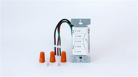Wiring For Digital Shower by Bath Humidity With A Medium Tech Digital Fan Timer