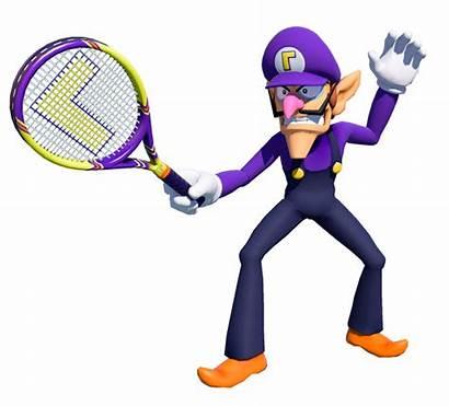 Waluigi Mario Tennis Smash Ultra Banjo2015 Deviantart