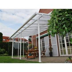palram 13x34 feria patio cover kit white hg9234