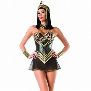 Nile Princess Sexy Womens Egyptian Costume - Halloween ...
