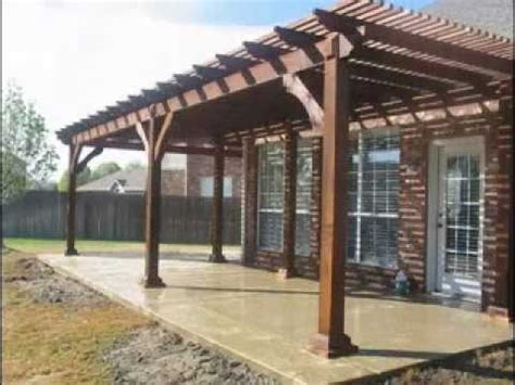 Patio Plans by Patio Cover Designs Ideas