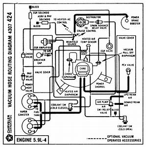 I Need A Vacuum Hose Routing Diagram For 1979 Dodge Lil