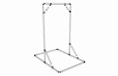 Bar Pull Standing Building Pullup