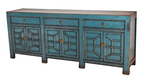 Blue Sideboard by Blue Sideboard Media Console Cabinet With Drawers