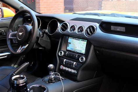 ford mustang interior 2016 ford mustang gt review digital trends
