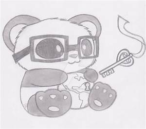 Cute Panda Mascot for Key Club by GeneralMisconception on ...
