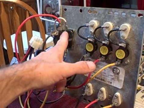 Hvac Electric Heat Kit Strips Shown Youtube