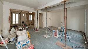 comment casser un mur porteur habiteum With comment etayer un mur porteur
