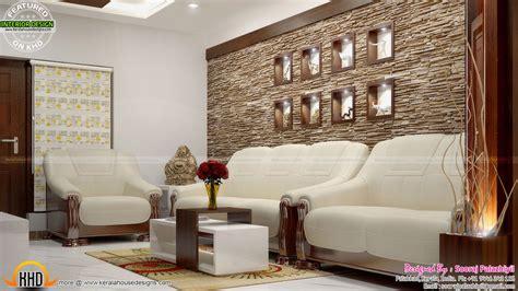 simple home interiors simple apartment interior in kerala kerala home design