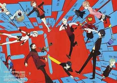 Persona Anime Collage Superhero Px Cartoon Desktop
