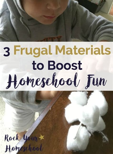 3 Frugal Materials to Boost Homeschool Fun | Fun ...