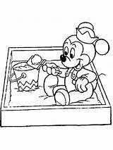 Coloring Sandbox Pages Baby Disney Colorings Printable Getdrawings Getcolorings sketch template