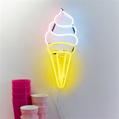 Ice Cream Wall Neon Light   Special Offer Buy Online UK