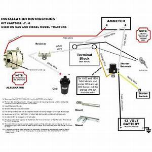 Ford 860 Wiring Diagram : rareelectrical new ford naa tractor alternator fits ~ A.2002-acura-tl-radio.info Haus und Dekorationen