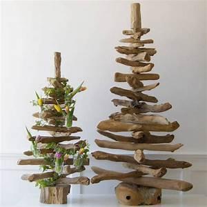 sapin en bois flotte a fabriquer et plus de 50 idees With maison en tronc d arbre 13 50 idees pour la deco bois flotte
