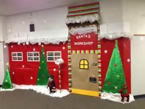 the 25 best santas workshop ideas on office decorations