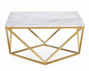 marble gold cocktail coffee table furniture home With gold and white marble coffee table