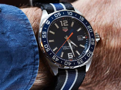 In Depth Review- 2016 Tag Heuer Formula 1 Blue Dial