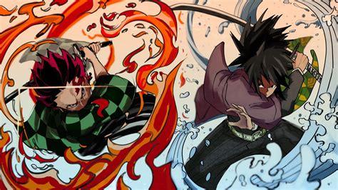 demon slayer giyuu tomioka tanjirou kamado sword war hd