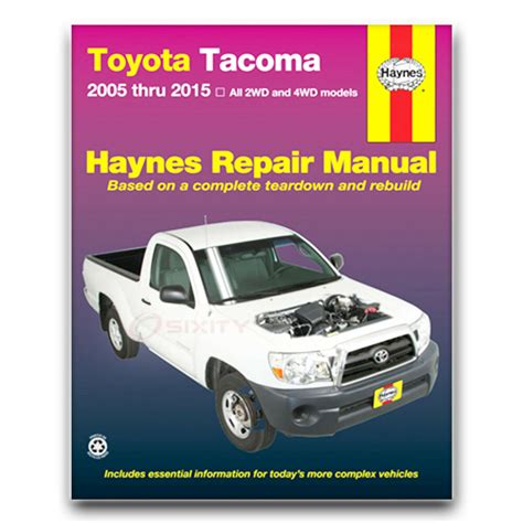 online auto repair manual 1996 toyota tacoma windshield wipe control toyota tacoma haynes repair manual base pre runner x runner shop service lz ebay