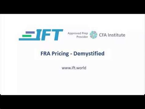 level ii cfa  rate agreements demystified youtube