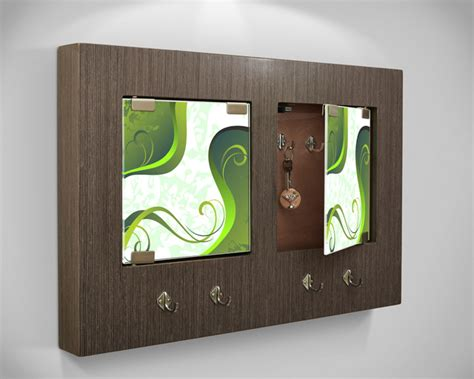Modern Key Holder Wall Panel