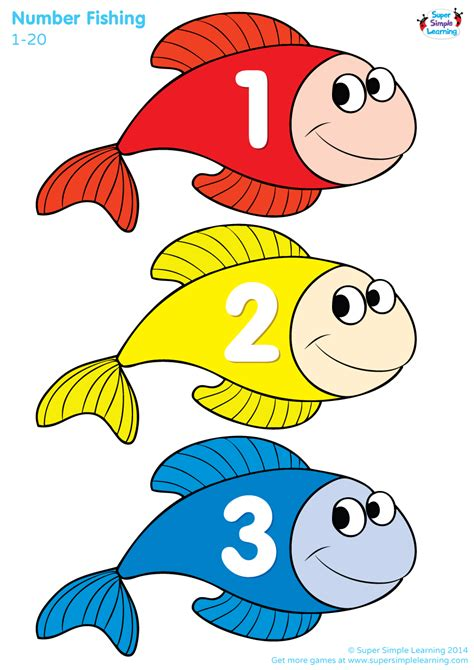 number fishing game super simple