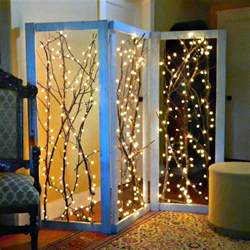 mark montano twinkling branches room divider diy