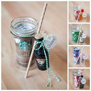 DIY Mason Jar Cocktail Gifts