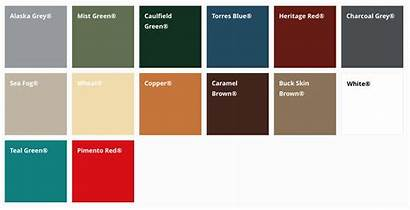 Panel Panels Colors Soffit Roof Metal Systems
