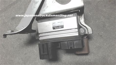 toyota tundra air injection control module