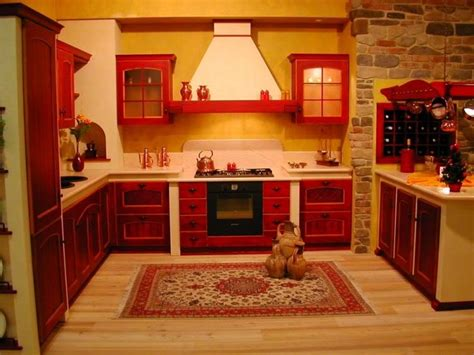 perfect red country kitchen cabinet design ideas for 53 best red country kitchen images on pinterest kitchen