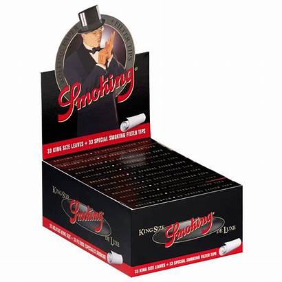 Smoking King Deluxe Papers Filtertips Slim Included