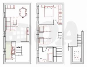 plan de maison archives ideo energie With plan maison avec mezzanine
