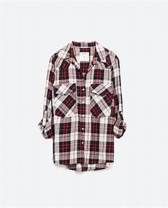 1000 idees sur le theme chemise femme zara sur pinterest With zara femme chemise a carreaux