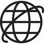 Internet Symbol Icon Icons Vector Earth Svg