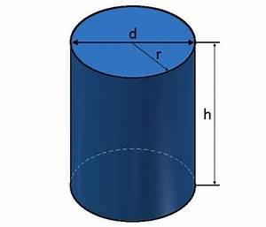Höhe Berechnen : zylinder berechnen von fl che und volumen am zylinder ~ Themetempest.com Abrechnung