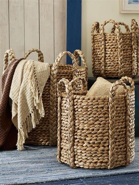 Cadman Basket  These Ralph Lauren Baskets Are Delicious
