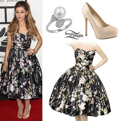Ariana Grande: 2014 GRAMMYs Outfit | Steal Her Style